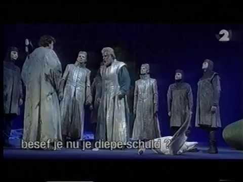 Julian Hartman als 2. Gralsritter in Richard Wagner's Parsifal bij de Vlaamse Opera deel 2
