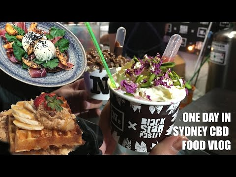 A day around Sydney CBD: Night Noodle Market & new Indonesian restaurant [Sydney Food VLOG]