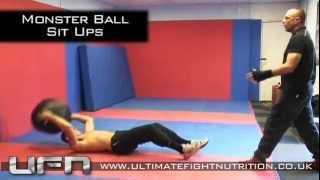 Sit up training for boxing and MMA