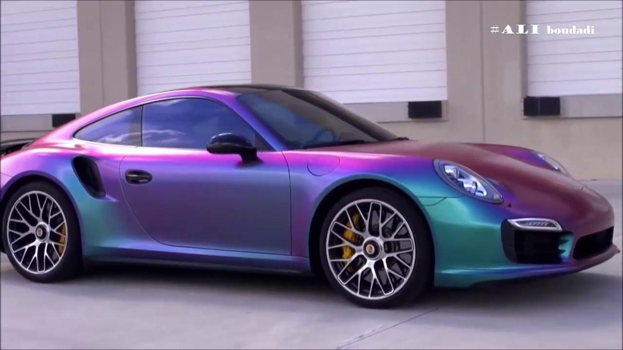 شاهد اجمل واروع الوان السيارات في العالم Hd Youtube