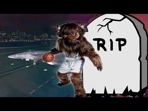NBA 2K15 My Park | DRE Jumped Over Thunder Mascot | R.I.P
