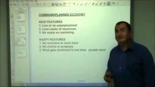 AS Level Economics 3. Market and Planned Economies