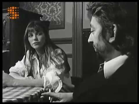 TIIC Studios Apprendre le français: interview Serge Gainsbourg et Jane Birkin 1973 RARE RTBF
