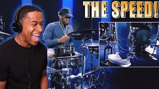 Download lagu Drummer Reaction -  David Frank Is So Fast! Bro!