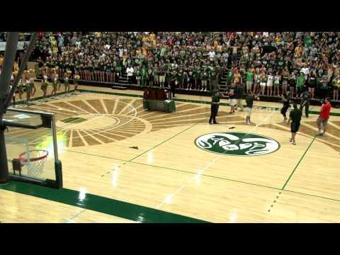 CSU Student Amazing Basketball Shot for Tuition