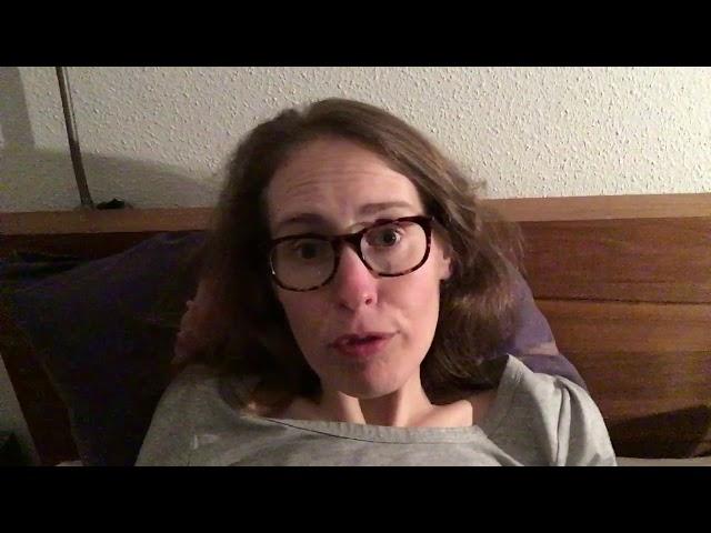Vlog #34: Ik overtref mezelf, nog steeds wakker.