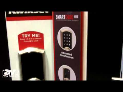 CEDIA 2015: Kwikset Shows Off 916 Touchscreen Electronic Deadbolt Smudge Mark Protection