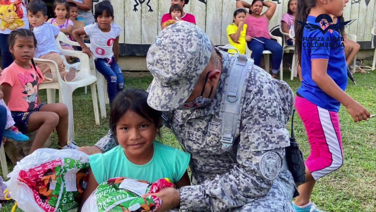 Alegría y obsequios llegan a territorios de difícil acceso de sur oriente del país