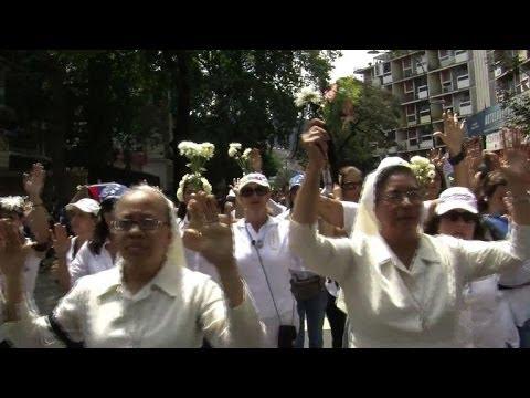 Venezuela: anti et pro gouvernement dans les rues de Cararacas