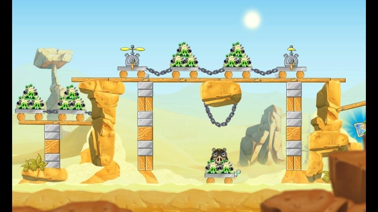 Angry Birds Star Wars 2 - Walkthrough 3 Stars - YouTube
