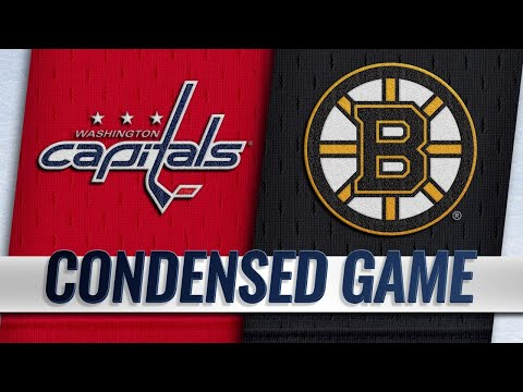 09/16/18 Condensed Game: Capitals @ Bruins