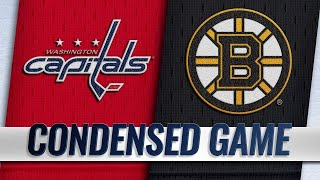 09/16/18 Condensed Game: Capitals @ Bruins