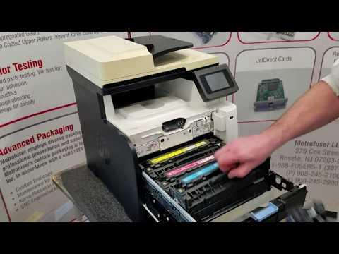 HP M375 M475 M476 Laser Printer Maintenance Kit  Fuser Installation Instructions RM1-8061 RM2-5476