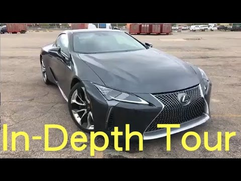 Lexus LC500 Test-Drive, In-Depth Tour, Q&A | Motor1.com
