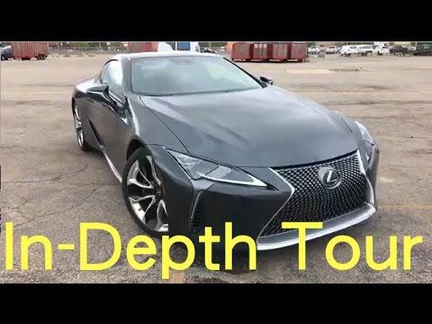 Lexus LC500 Test-Drive, In-Depth Tour, Q&A | Motor1.com