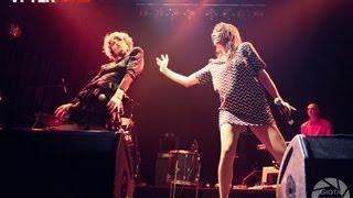 Nouvelle Vague & Liset Alea at Summer Rain Rock Radio