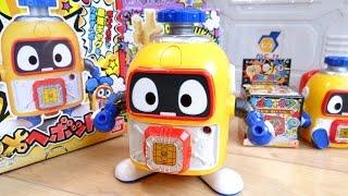 へボット玩具レビュー動画 DXへボット! https://youtu.be/oShPX7_7urQ ボキャネジ第1弾・ボキャネジ工具箱・ソフビ https://youtu.be/Ncyx13A8bwU ヘボットおもち...