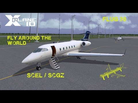 X-Plane fly around the World Flug 30+ iFMS Tutorial Part 1