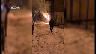 Пожар на Донбасской вспыхнул второй раз за ночь