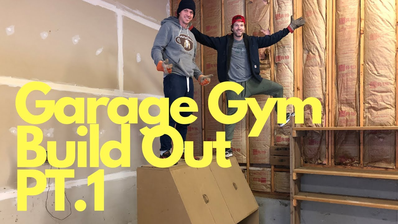 Garage gym build out follow our journey and get tough youtube