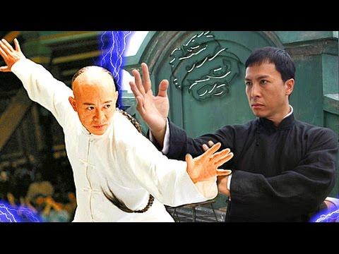 Jet Li vs Donnie Yen! - (IP Man VS Danny the Dog)☯ Epic Wushu Martial Arts Fights & Training.