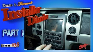 "Ford Raptor 8"" radio replace and full system start Installer Diaries 238 part 1"