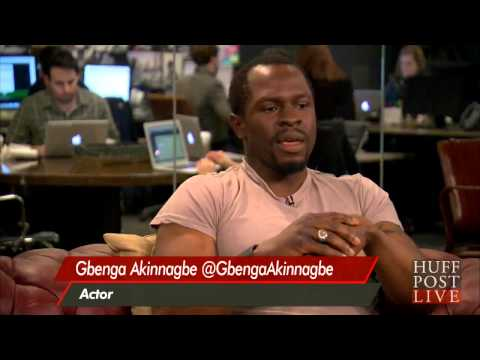 Gbenga Akinnagbe: 'The Wire' Helped Explain Gun Violence