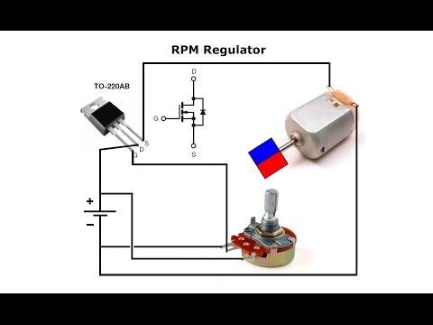Simplest RPM Regulator & Schumann Resonance Generator