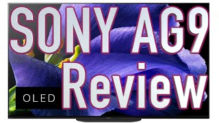 Sony BRAVIA AG9/ A9G OLED TV Review