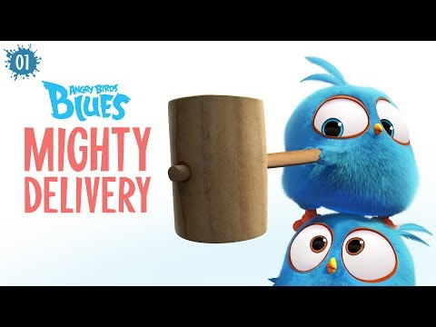 Angry Birds Blues  Mighty Dery  S1 Ep1