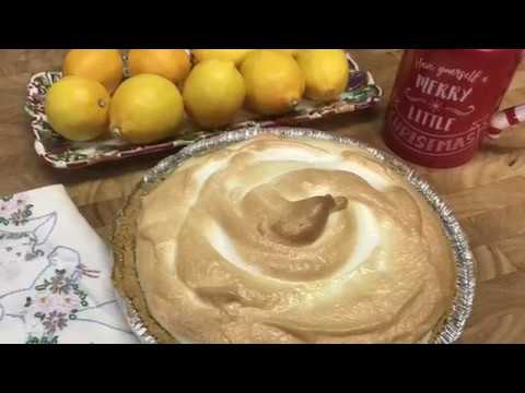 Meyer Lemon Icebox Pie