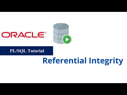 34. Referential Integrity in Oracle PL/SQL