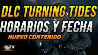 HORARIOS Y FECHA DE DESCARGA SEGUNDA PARTE DEL DLC TURNING TIDES  BATTLEFIELD 1