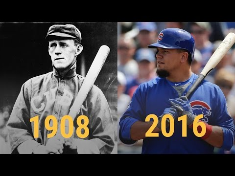 How much the world changed since the Cubs were last in the World Series