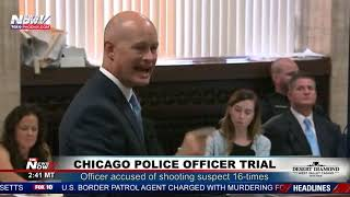 Opening Statements: Chicago Cop Accused Of Shooting Suspect 16-times