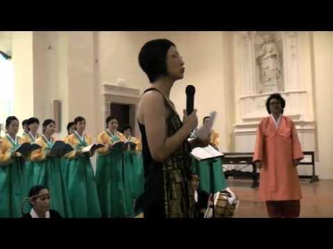 CORO JIN HARMONY DI PUSAN (SUDCOREA) A ERICE (intero concerto) 15 AGOSTO 2011