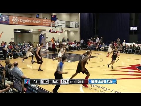 Cory Jefferson posts 20 points & 11 rebounds vs. the Stampede, 2/26/2016