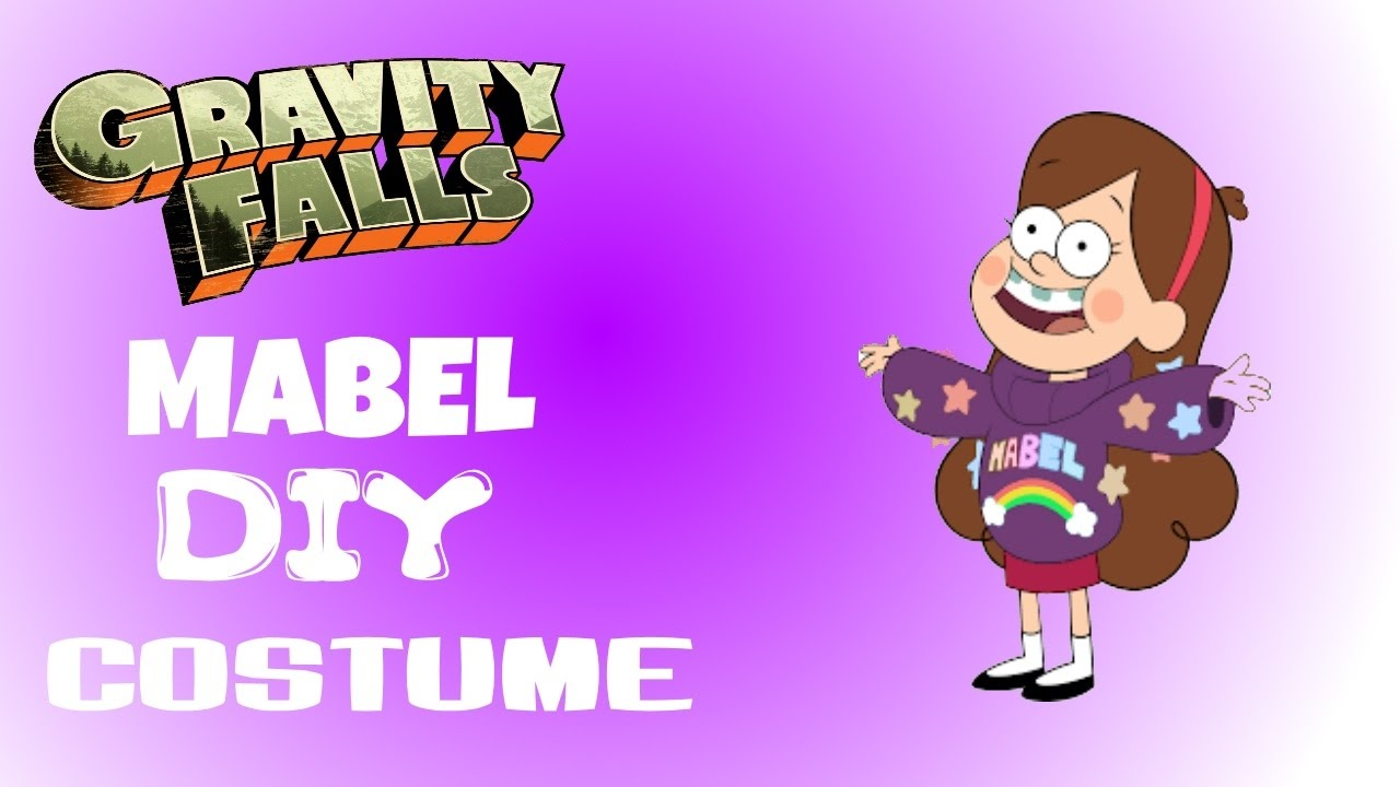 mabel pines gravity falls diy halloween costume