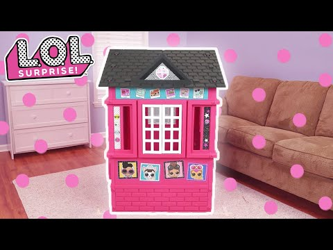 Lol Surprise Cottage Playhouse Assembly Instructions Youtube