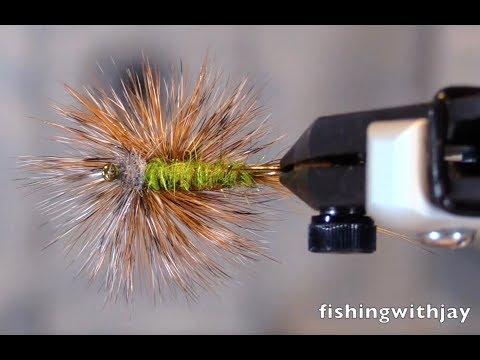 Fly Tying - Metolius IV Green Drake Parachute
