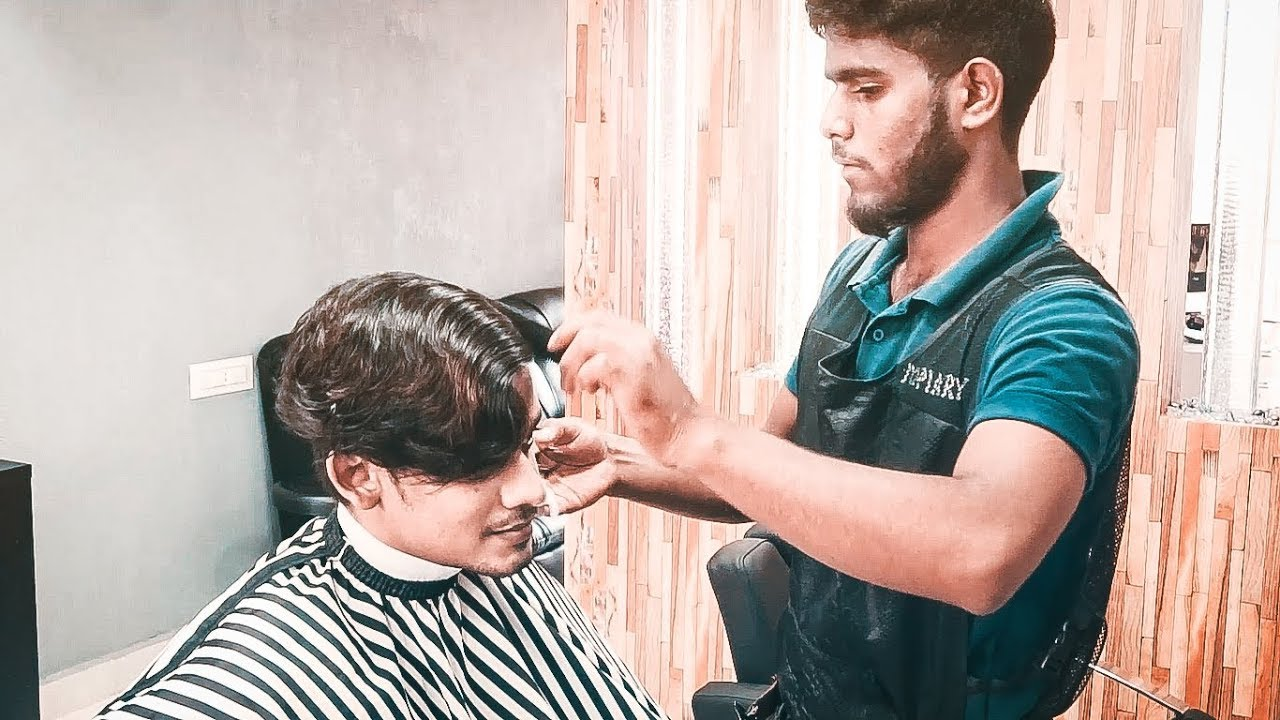 Men\u0027s haircut Indian Style 2019 ★ short Hairstyle With Lineup👱 ★ Men\u0027s  Hair telugu