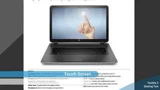 HP 17 3 inch laptop HP 17 fo20us with Beats Audio