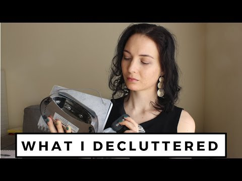 WHAT I DECLUTTERED | PHONE, JOURNAL, AND MORE
