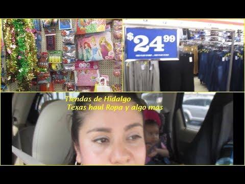 Vamos a tiendas de  Hidalgo Texas +Haul  Ropa y mas