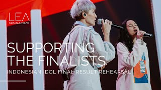 Supporting the finalists!  - Rehearsal Highlights