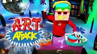 Art Attack Bastelclip #9 - Die coole Maske | Disney Junior