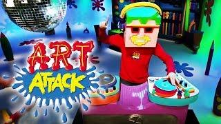 Art Attack Bastelclip #9 - Die coole Maske | Disney Junior