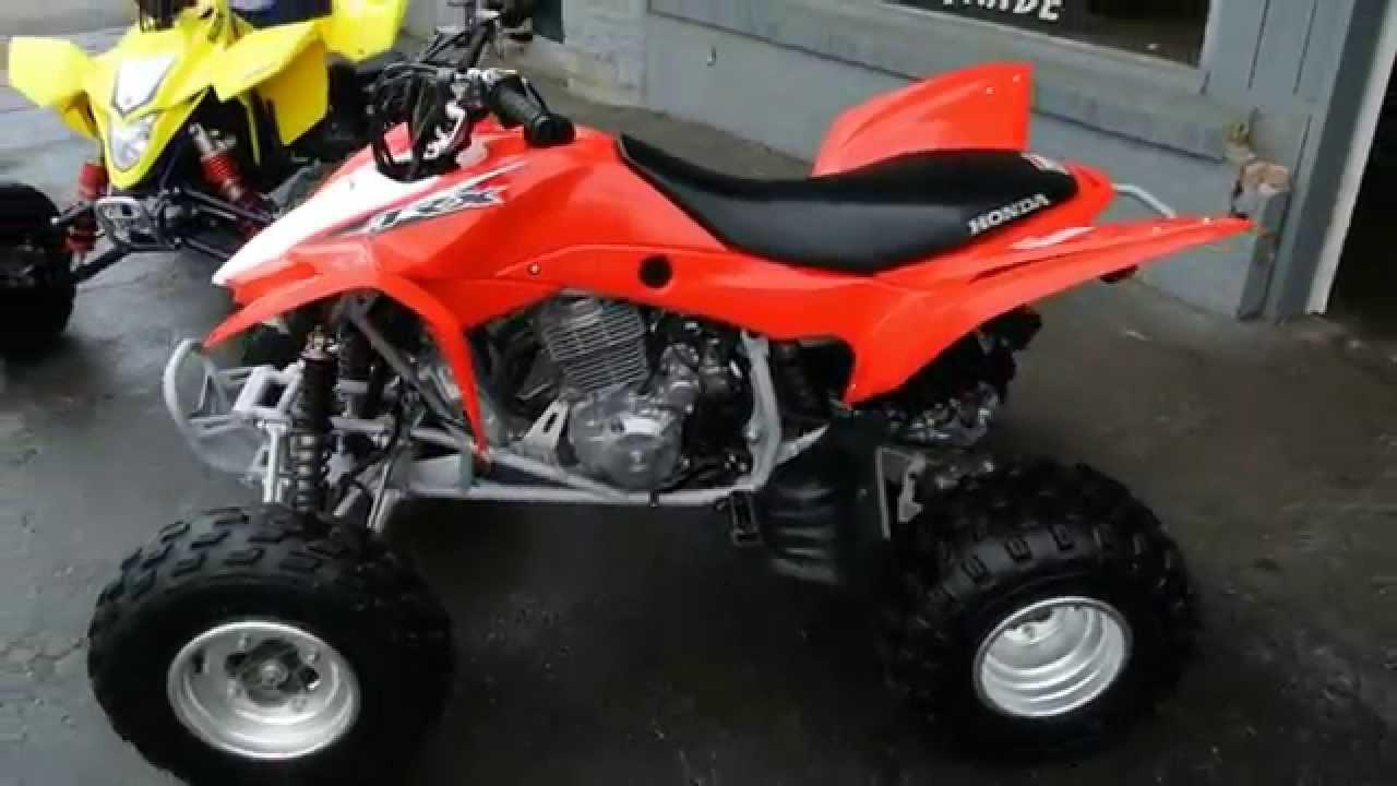 2013 Honda TRX400 - YouTube