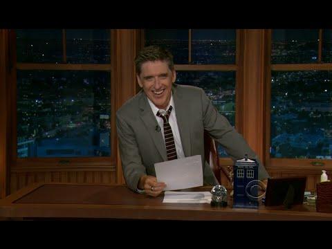 Late Late Show with Craig Ferguson 7/14/2011 Zooey Deschanel, Jim Cummings