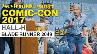Harrison Ford Taunts Chris Hardwick @ BLADE RUNNER 2049 Comic-Con Panel SDCC 2017